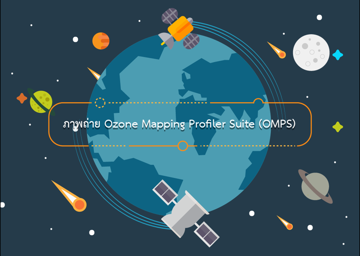 Course Image ภาพถ่าย Ozone Mapping and Profiler Suite (OMPS)
